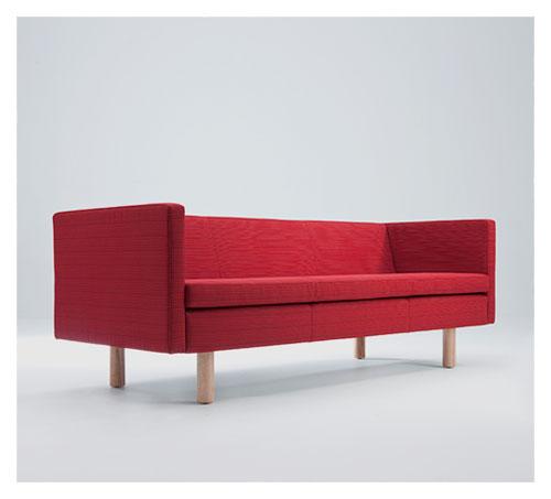 QUOIN Oak Leg Sofas