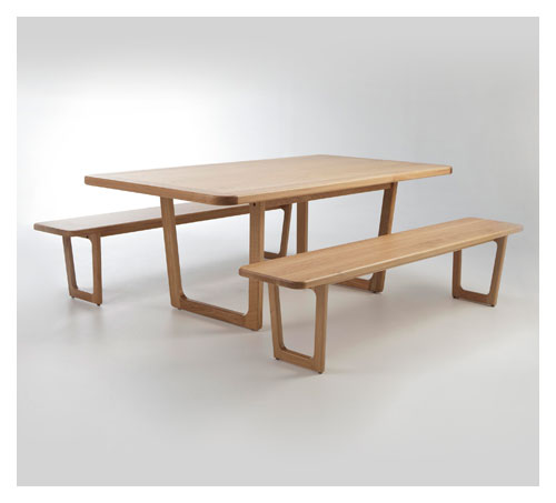 TERRA FIRMA Tables and Benches
