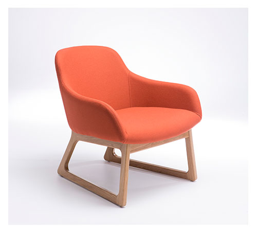 TILLER Upholstered Lounge Chairs