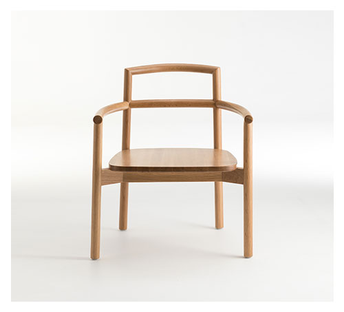 FABLE Oak Lounging Armchair