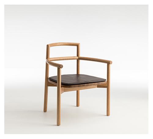 FABLE Oak Lounge Chair