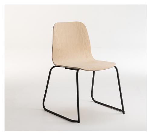 TILLER Slim Sled Chair